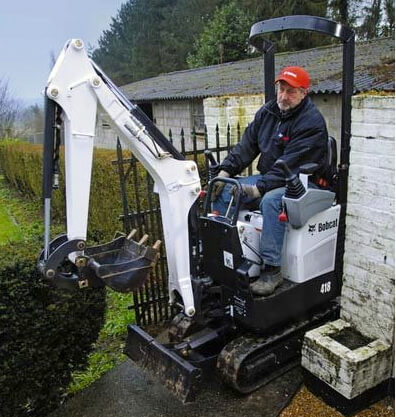 Excavator Rentals New York City | Mini & Compact Excavators
