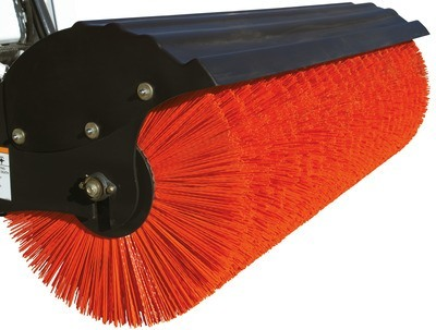 Heavy-Duty Orange Bristles